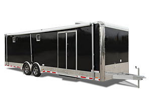 imagehandler ashx imageid 3799 the auto master is a flat top car hauler trailer and is also available as a gooseneck or fifth wheel